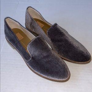 NWOT Dolce Vita Caro Velvet Loafers